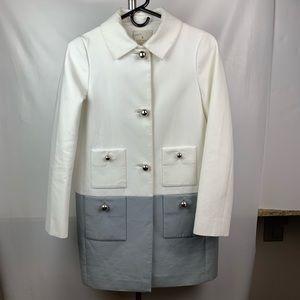 Kate Spade White & gray coat